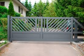 portails de jardin portails coulissants en métal résidentiels motorisés zenox