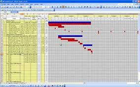 Hourly Gantt Chart Excel Template Free Downloadable Gantt Chart In Excel Excel Templates