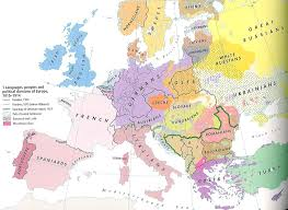 Unlv Map European Political And Ethnic Divisions 1914 550x401 Mapporn