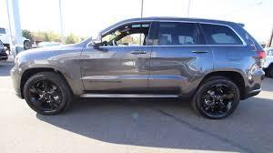 grey jeep grand cherokee 2016 2016 jeep grand cherokee overland granite crystal metallic