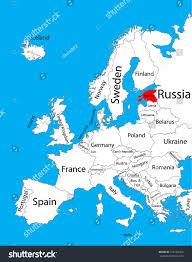 estonia vector map europe vector map stock vector 316184465