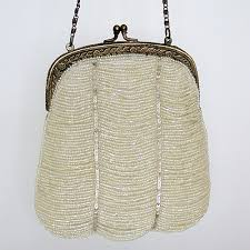 wedding bags vintage wedding handbags ivory beaded handbag