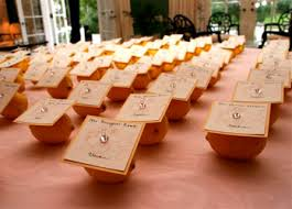 creative place cards an affair to remember