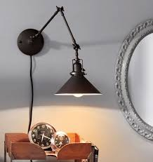 Swing Arm Wall Sconce Hardwired 117 Best Fixtures Lights Images On Pinterest Lighting Ideas