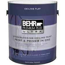 home depot paints interior behr premium plus ultra 1 gal ultra white ceiling interior