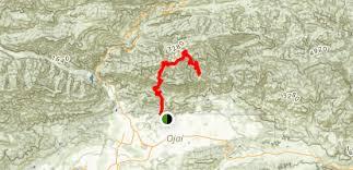 pratt map pratt trail california maps photos for hiking biking