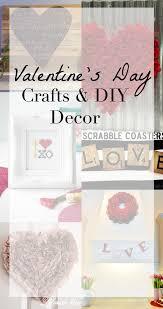 Diy Decorating Craft Ideas Friday Favorites Valentine U0027s Day Diy Decor U0026 Crafts The Crazy