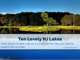 New Jersey lakes images Ten truly stunning new jersey lakes jpg
