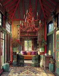 Eclectic Home Decor by Tony Duquette U0027s Dawnridge House Beverly Hills Chinese Interior