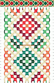 diamonds friendship bracelet images Diamonds friendship bracelet pattern number 10659 for more gif