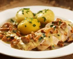 cuisiner escalope de dinde escalope de dinde à la crème aux pommes de terres et aux oignons