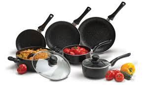 la batterie de cuisine batterie de cuisine 8 pièces chef groupon