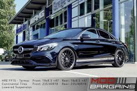 lowered amg hre ff15 flow form tarmac black wheels for mercedes benz