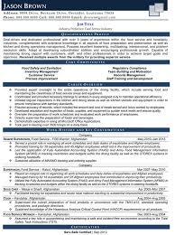Sample Resume Objectives For Food Service by Waiter Resume Server U0026 Waitress Cover Letter Example Server