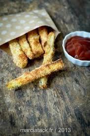comment cuisiner les courgettes au four frites de courgettes au four au parmesan et herbes de provence