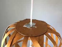 Pendant Light Diy Diy Basket Pendant Light And Then We Tried