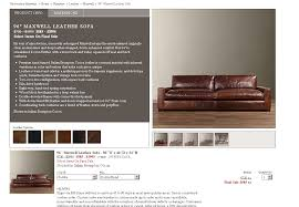 restoration hardware maxwell sofa leather best home furniture