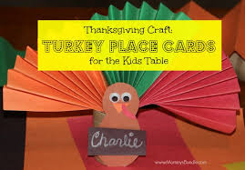 thanksgiving craft turkey place cards for the s bundle