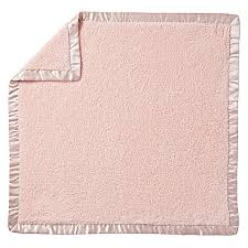 cuddle me softly baby blanket light pink the land of nod
