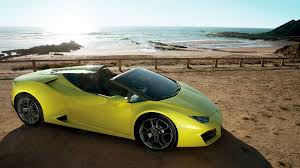 Lamborghini Huracan Back - lamborghini huracan rwd spyder convertible launched in india