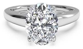 solitaire oval engagement rings 5 opulent oval cut engagement rings ritani