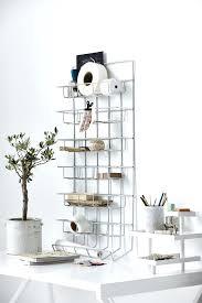 accessoires bureau ikea rangement du bureau rangement bureau mural xl en fer gris 45 x 12