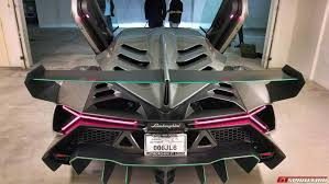Lamborghini Veneno Features - meet the first lamborghini veneno in the u s gtspirit