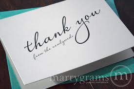 newlywed cards newlywed thank you cards diagonal style marrygrams