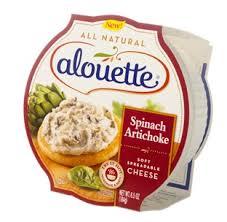 alouette cuisine alouette spinach artichoke spreadable cheese shespeaks reviews