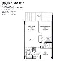 the bentley bay miami beach floor plans