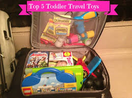 Top 5 travel toys for toddlers