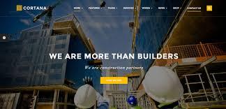 25 best construction company wordpress themes 2017 designorbital