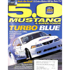 5 0 mustang magazine your cover print of cover print of 5 0 mustang magazine september