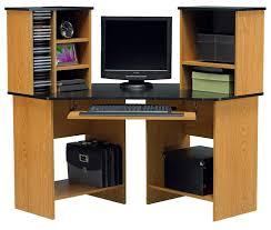 Corner Computer Desk With Shelves Fabulous Corner Computer Desks For Home Office Furniture