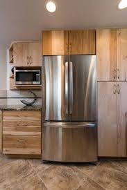 Stained Hickory Cabinets Assembled Hickory Kitchen Cabinets Custom Made Hickory Kitchen
