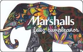marshall gift card gift card elephant marshall marshalls col pr mar 001