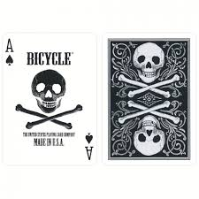bicycle skull cards pokerstore nl