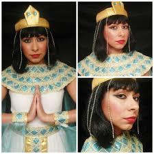 Cleopatra Makeup Tutorial Halloween Costume Ideas Youtube Maquillaje De Cleopatra Tutorial Halloween Cleopatra Makeup