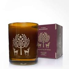 thymes candles thymes wildwood magnolia fig vetiver candle