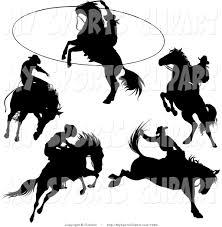 cowboy clipart black white clipart panda free clipart images