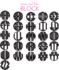 three letter monogram acrylic monogram necklace it s sew wright