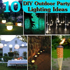 outside party lights ideas 10 diy outdoor party lighting ideas bash corner