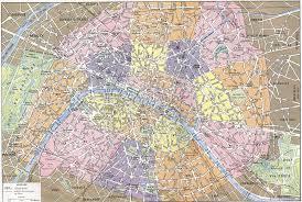 Map Of Paris France Printable Paris Street Map Ambear Me