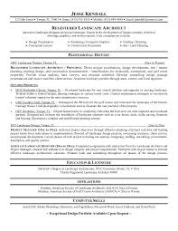 Mobile Architect Resume Example Landscape Architect Resume Free Sample