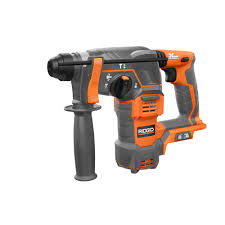 Harbor Freight Rotary Table by Ridgid Cordless 18 Volt 7 8 In Sds Plus Rotary Hammer R86710b