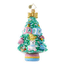 christmas ornaments for baby christopher radko ornaments radko baby baby what a tree 1018714