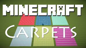 minecraft cool carpet designs with signs youtube