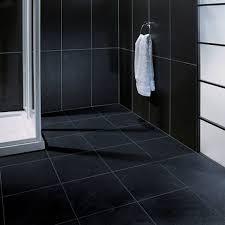 black bathroom tile ideas black tile bathroom floor thesouvlakihouse com
