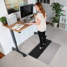 Standing Desk Mats by Best Sit Or Stand Desk Mat For Low Pile Carpet Or Hard Floors