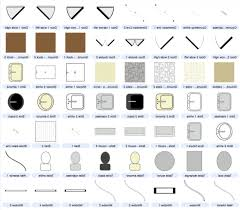 building drawing symbols architecture buildings and floor plan